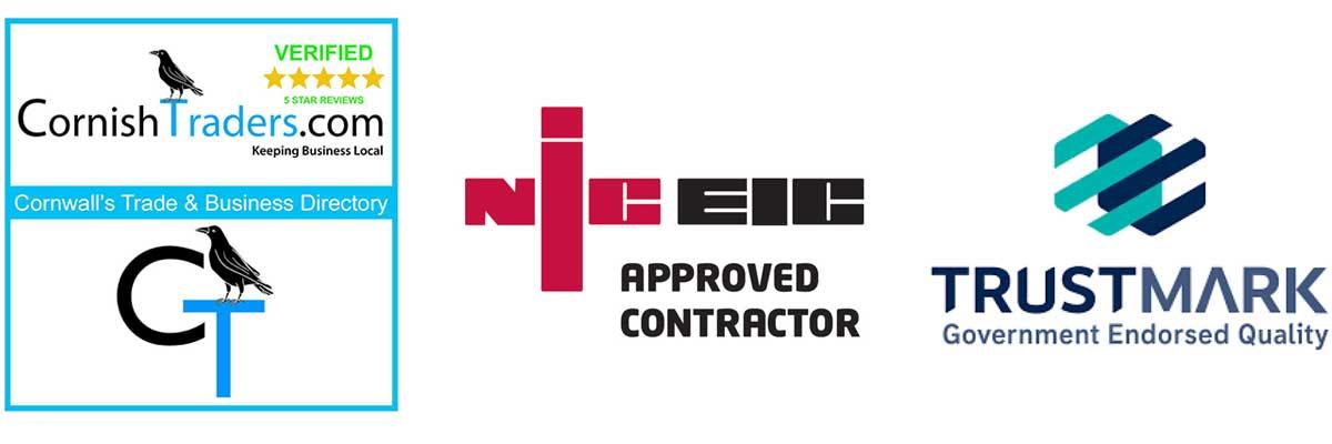 Cornish Traders NICEIC Trustmark